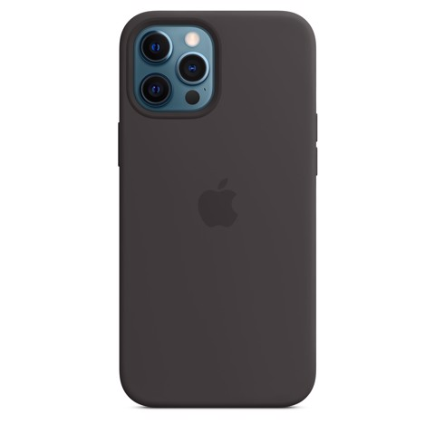 Apple Silicone Case with MagSafe iPhone 12 Pro Max - Black
