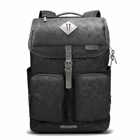 TOMTOC Vintage Travel Backpack MacBook Pro 15-inch & 16-inch