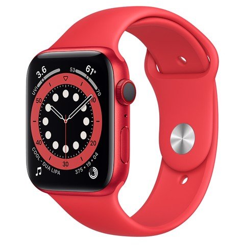 Apple Watch Series 6 GPS+Cellular 40mm (Red Aluminium Case - Red Sport Band)- Đang có hàng