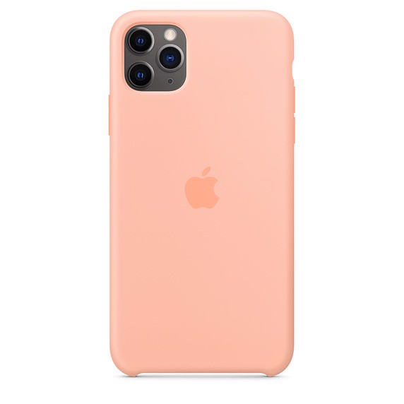 Apple Silicone Case iPhone 11 Pro Max - Grapefruit