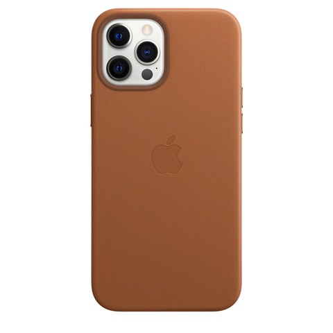 Apple Leather Case with MagSafe  iPhone 12 Pro Max - Brown