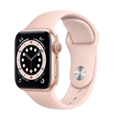 Apple Watch SE GPS 40mm (Gold Aluminium Case - Pink Sand Sport Band)- Đang có hàng