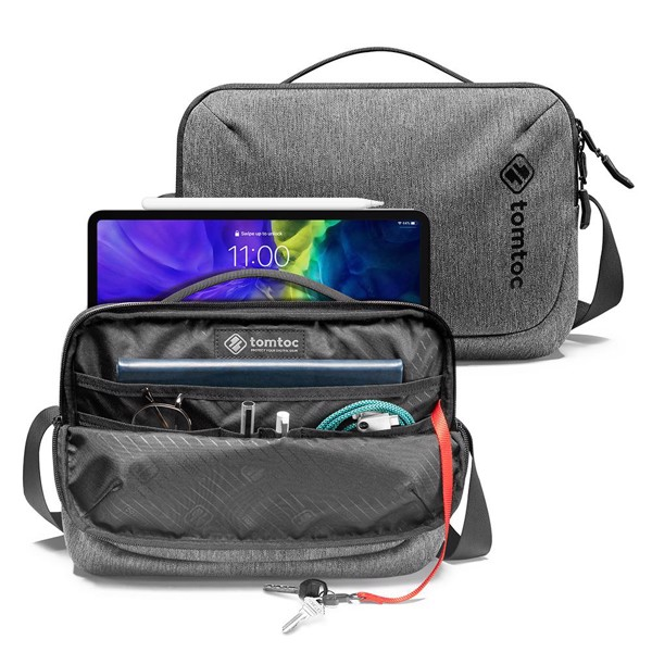 TOMTOC Urban Commute Crossbody Bag iPad (Up to 11-inch)