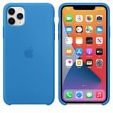 Apple Silicone Case iPhone 11 Pro Max - Surf Blue