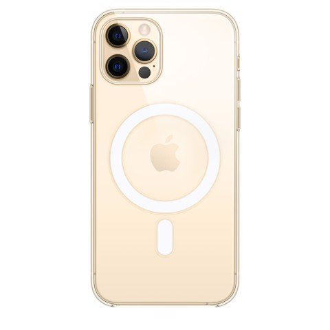 Apple Clear Case with MagSafe iPhone 12 | 12 Pro - Trong suốt