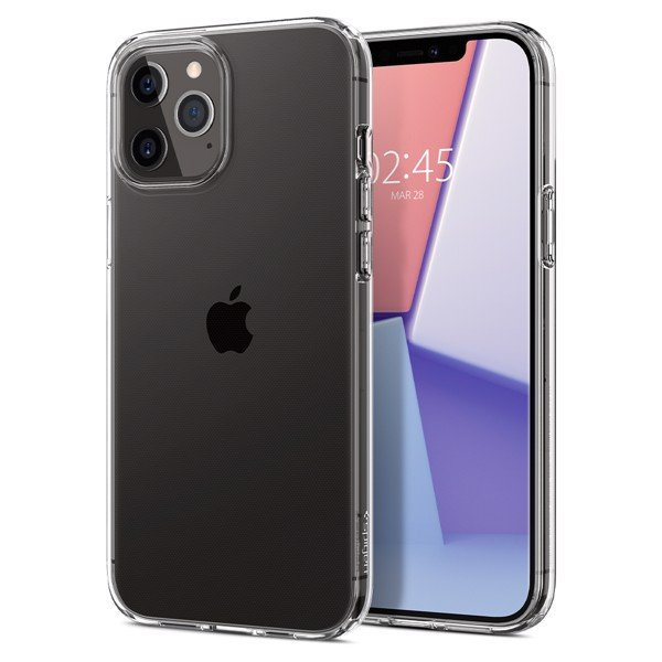 Spigen - Crystal Flex iPhone 12|12 Pro (Crystal Clear)