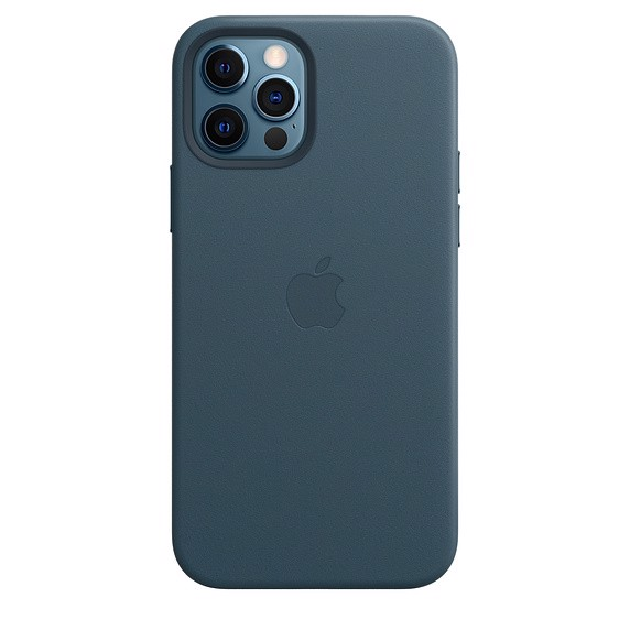 Apple iPhone 12 | 12 Pro Leather Case with MagSafe - Baltic Blue