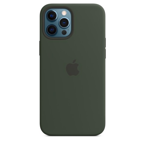 Apple Silicone Case with MagSafe iPhone 12 Pro Max - Cyprus Green
