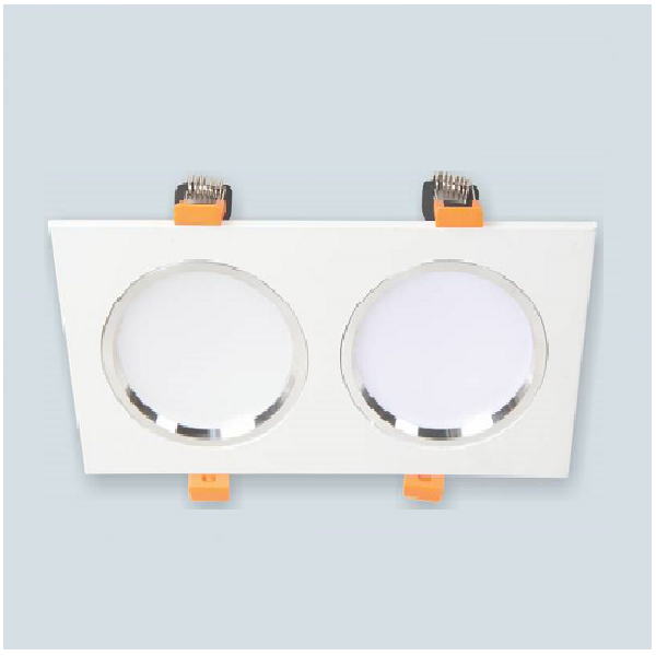 Downlight Led âm trần cao cấp Anfaco AFC 754/2 LED 9Wx2