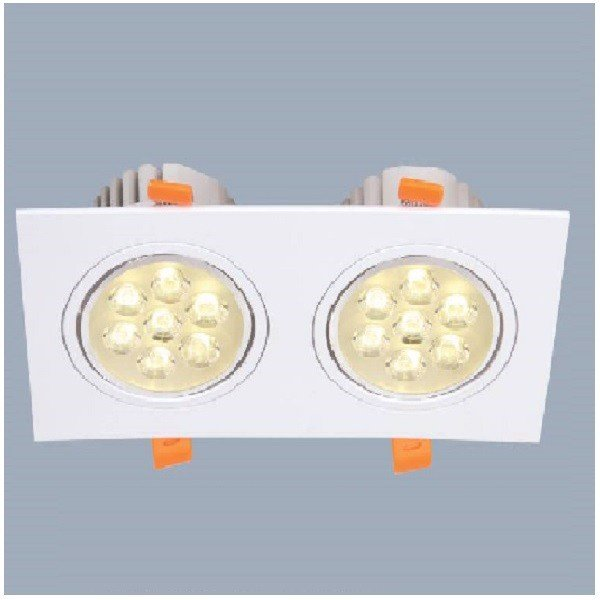 Downlight Led âm trần cao cấp Anfaco AFC 771T/2 LED 7Wx2
