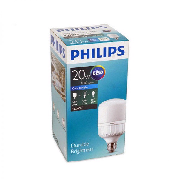 Bóng LED bulb Hi-lumen TForce Core HB 20W E27 Philips