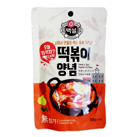 Sốt Topokki Cay Ngọt Beksul 150g