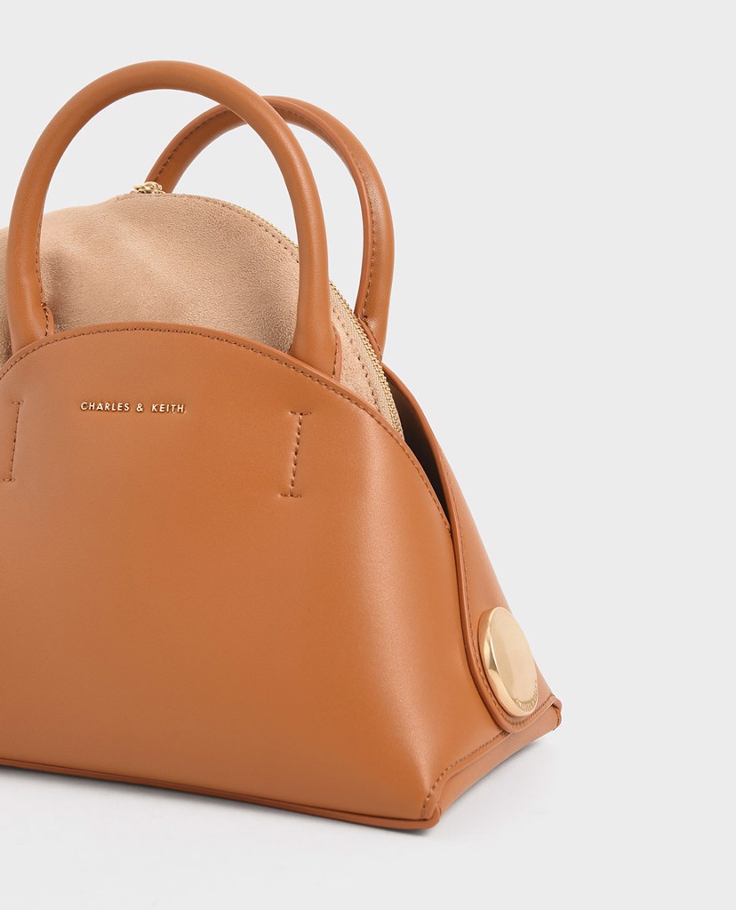CHARLES & KEITH - Túi xách tay Top Handle Dome