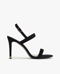 CHARLES & KEITH - Giày cao gót quai ngang Textured Ankle Strap