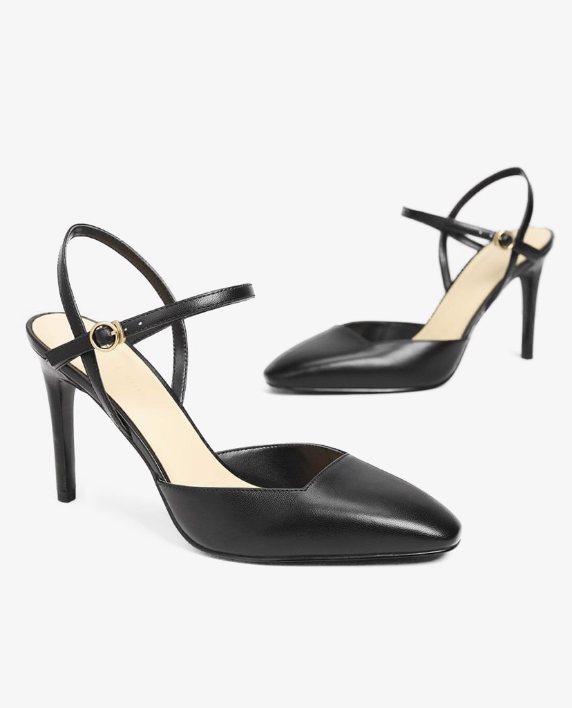 CHARLES & KEITH - Giày cao gót Ankle Strap Covered Heels