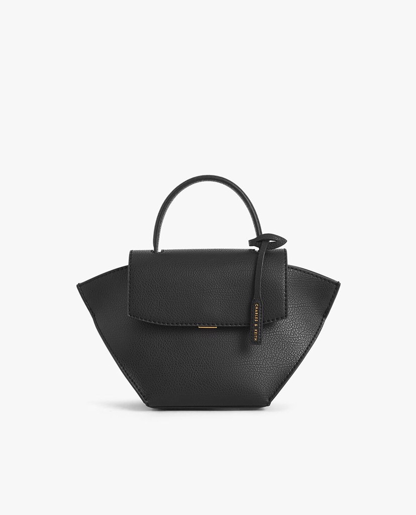 CHARLES & KEITH - Túi xách tay nữ Large Trapeze Top