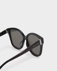CHARLES & KEITH - Kính mát nữ gọng oversize Acetate Frame