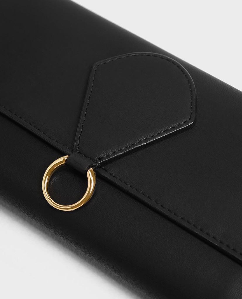 CHARLES & KEITH - Ví Ring Detail Long