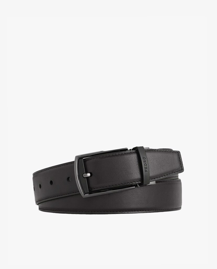 PEDRO - Thắt lưng nam Leather Reversible Pin