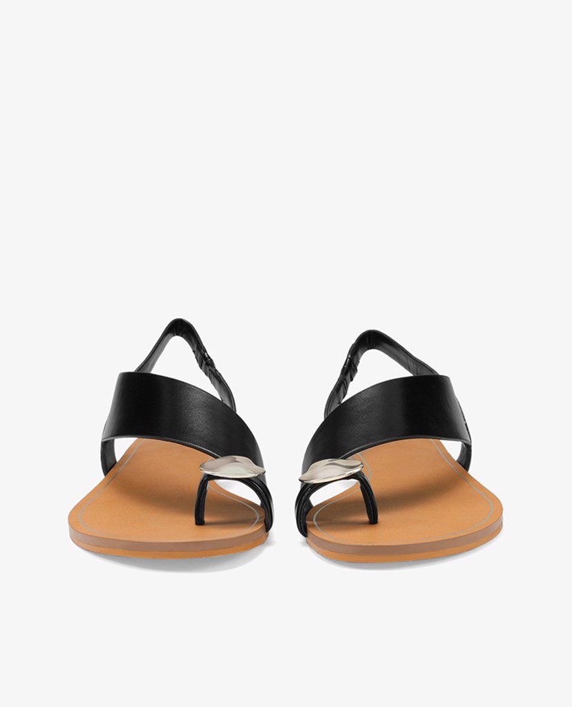 PEDRO - Giày sandals xỏ ngón Embellished Ring Toe