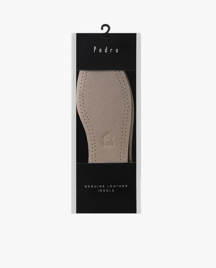 PEDRO - Miếng lót giày Genuine Leather Insole L