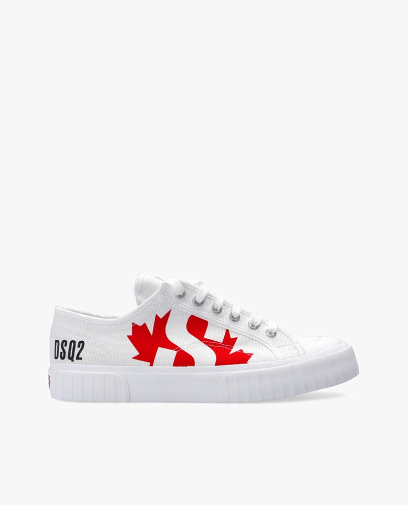 DSQUARED2 - Giày sneaker nam cổ thấp Lace Up Low Top