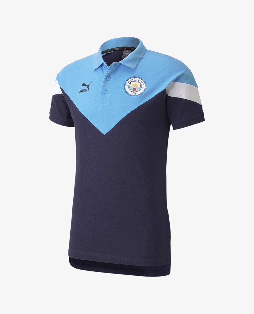 PUMA - Áo thun polo nam Man City Iconic MCS