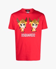 DSQUARED2 - Áo thun nam ngắn tay Year Of The Ox