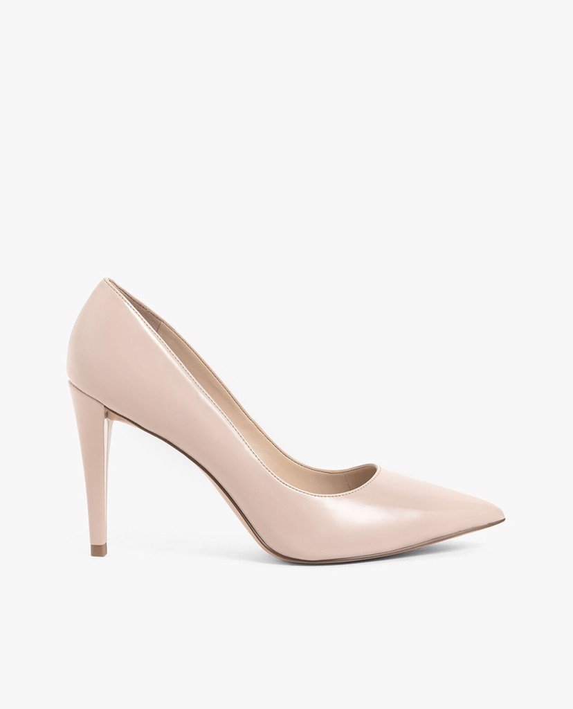 CHARLES & KEITH - Giày cao gót mũi nhọn Patent Pointed Toe Stiletto