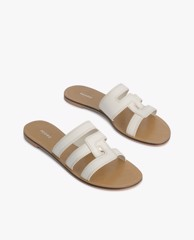 PEDRO - Giày sandal nữ quai ngang Abstract Casual