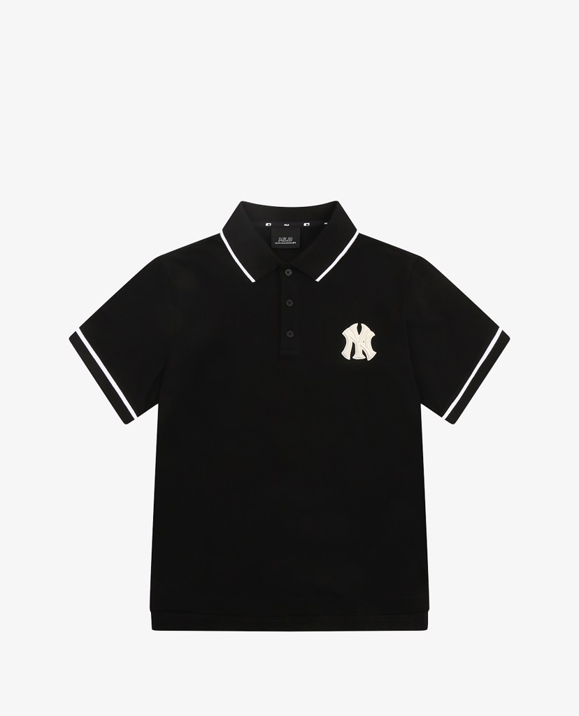 MLB - Áo polo ngắn tay Logo Basic Over Fit Pique
