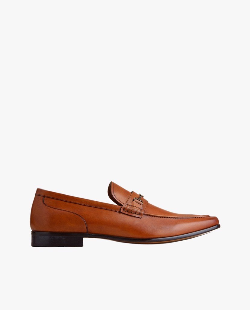PEDRO - Giày tây nam Leather Bit Loafers