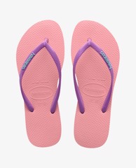 HAVAIANAS - Dép nữ Slim Logo Pop Up