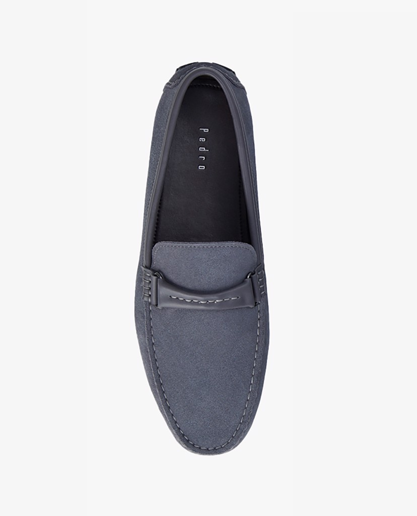 PEDRO - Giày lười nam Embossed Leather