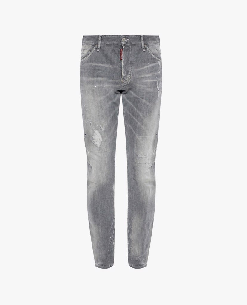 DSQUARED2 - Quần jeans nam skinny Paint Drip