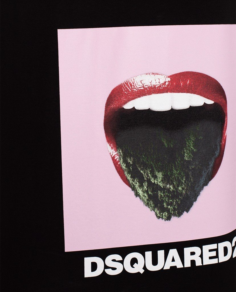 DSQUARED2 - Áo tank top nam Tongue Out