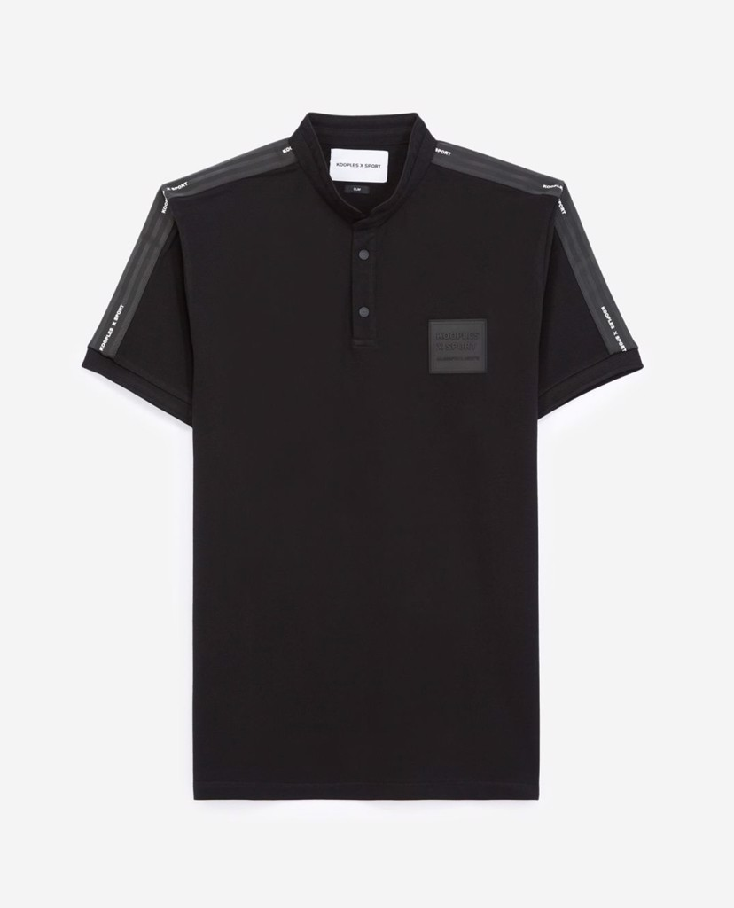 THE KOOPLES - Áo polo nam ngắn tay Logo Patch