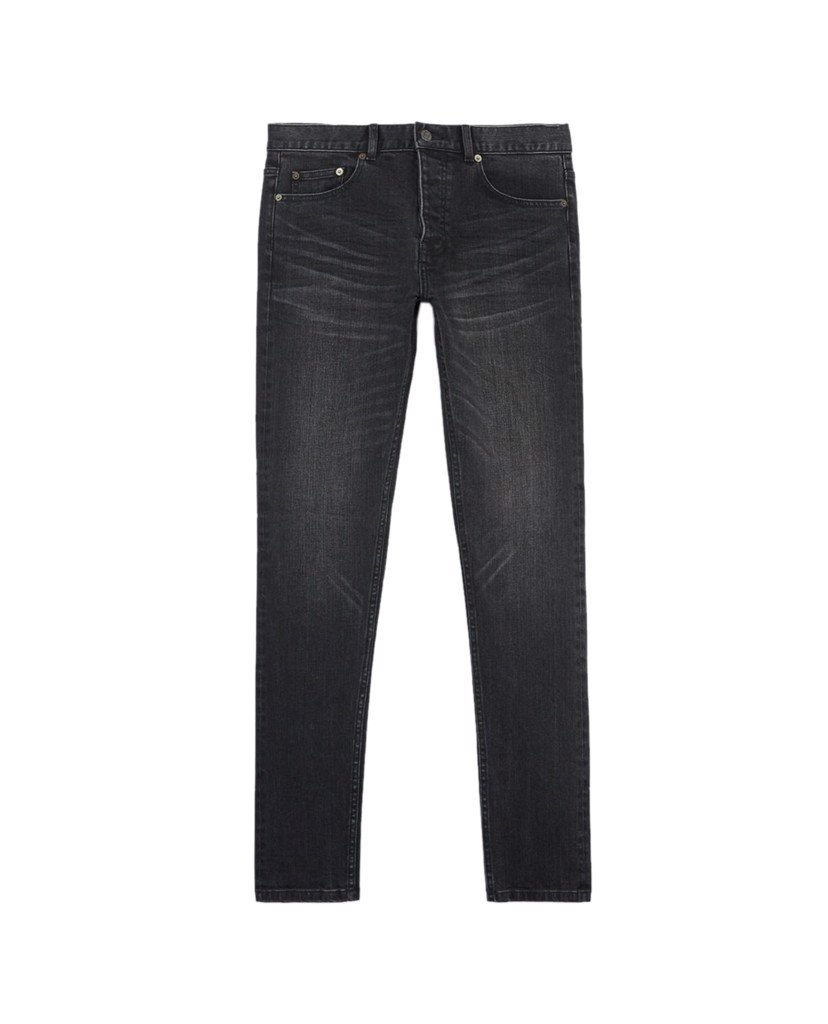 THE KOOPLES - Quần jeans nam denim Dark Black