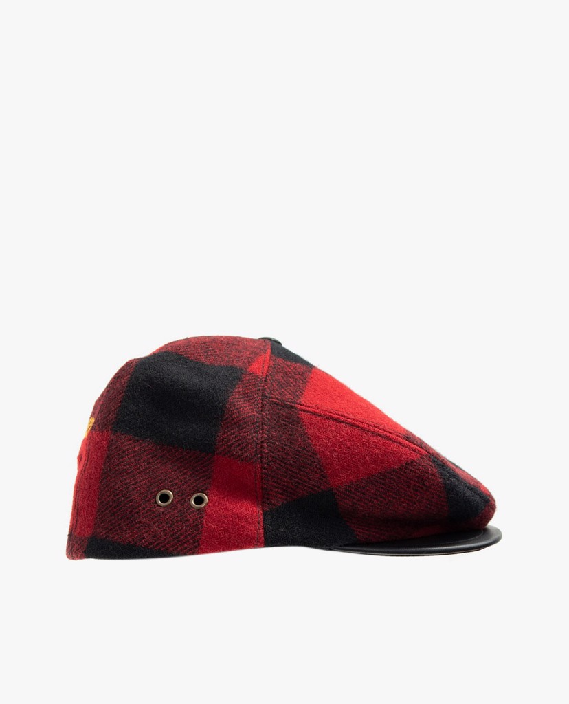 DSQUARED2 - Nón beret nữ cổ điển Wool Peaked