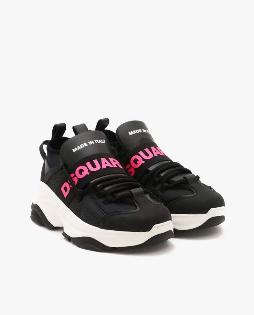 DSQUARED2 - Giày sneaker nữ Panelled Logo Print