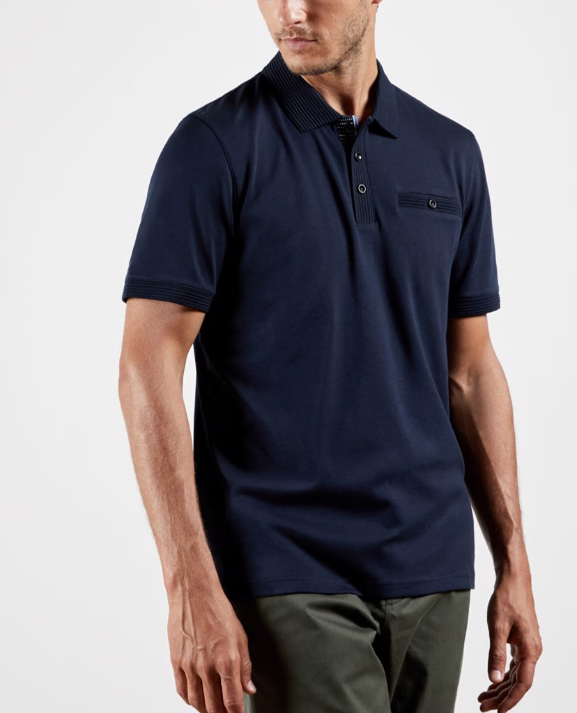 TED BAKER - Áo polo nam tay ngắn Pumpit