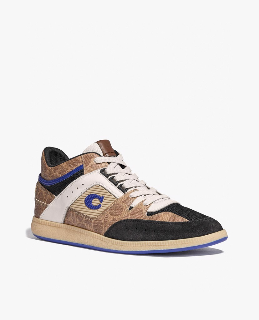 COACH - Giày sneaker nam phối dây Citysole Mid Top