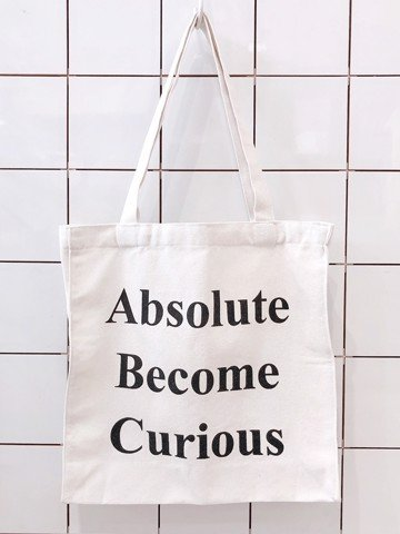 Túi tote Absolute Become Curious