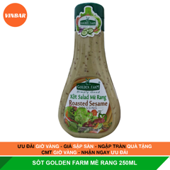 SỐT MÈ RANG GOLDEN FARM 250ML