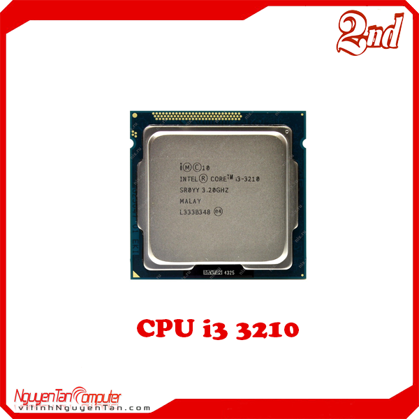 CPU i3 3210 (NO FAN)