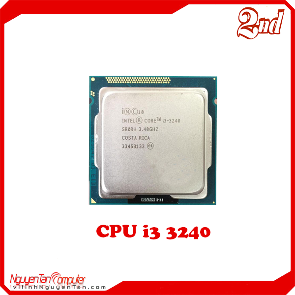 CPU i3 3240 (NO FAN)