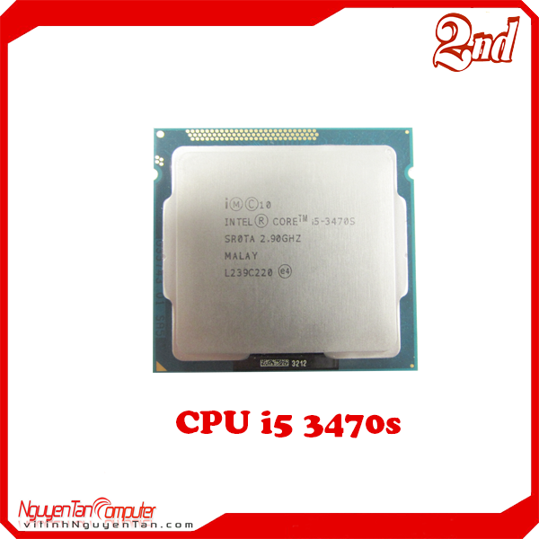 CPU i5 3470s (NO FAN)