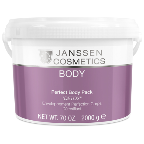 KEM Ủ THẢI ĐỘC TỐ CHO BODY -  JANSSEN COSMETICS PERFECT BODY PACK