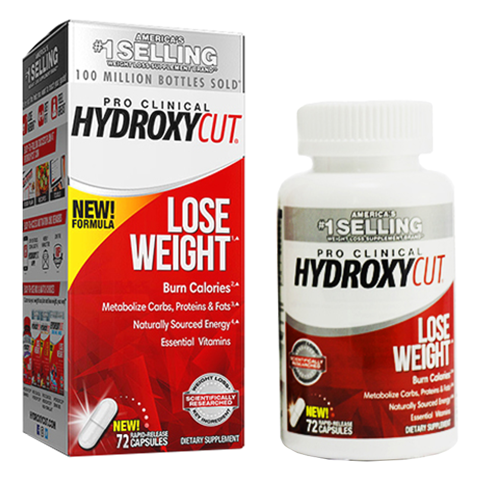 HYDROXY PRO CLINICAL 72CT US