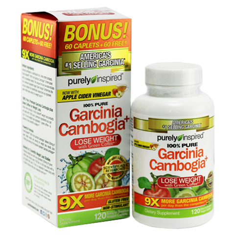 PURELY INSPIRED GARCINIA CAMBOGIA 120CT US